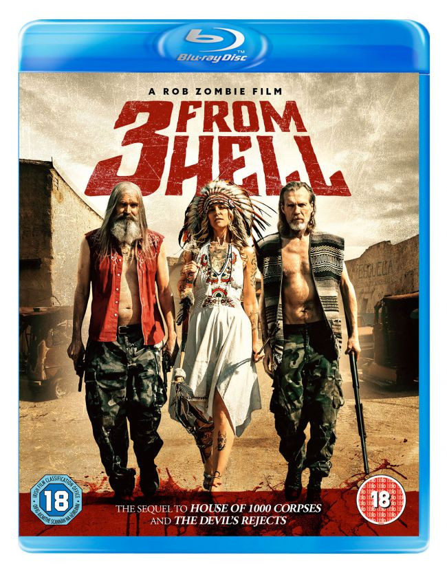 Rob Zombie 3 from Hell Blu-ray