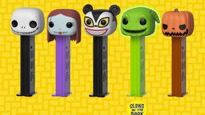 Funko Announces Pop! PEZ Dispensers, Beginning With 'The Nightmare Before Christmas'