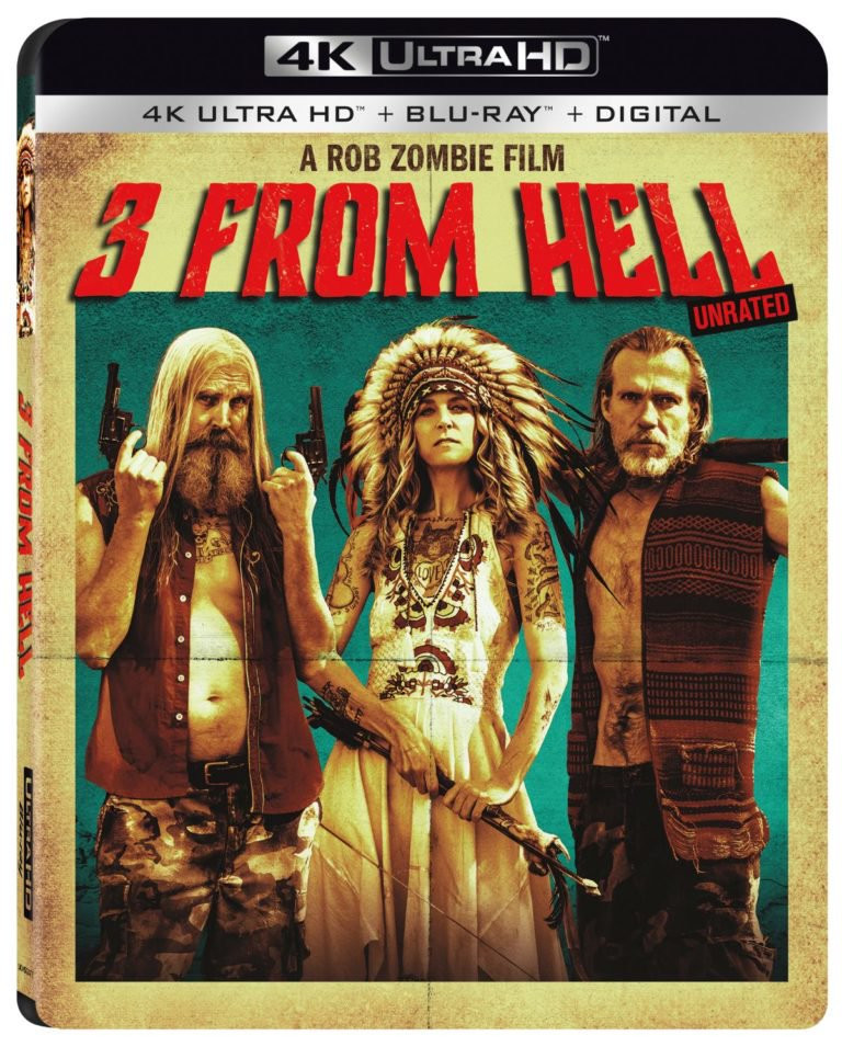 Rob Zombie 3 from hell 4K Ultra HD