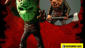 Mezco And Entertainment Earth Team Up For Exclusive Bloody Jason Figure