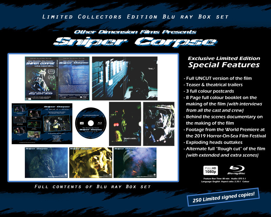 Sniper Corpse Keith Robinson Review