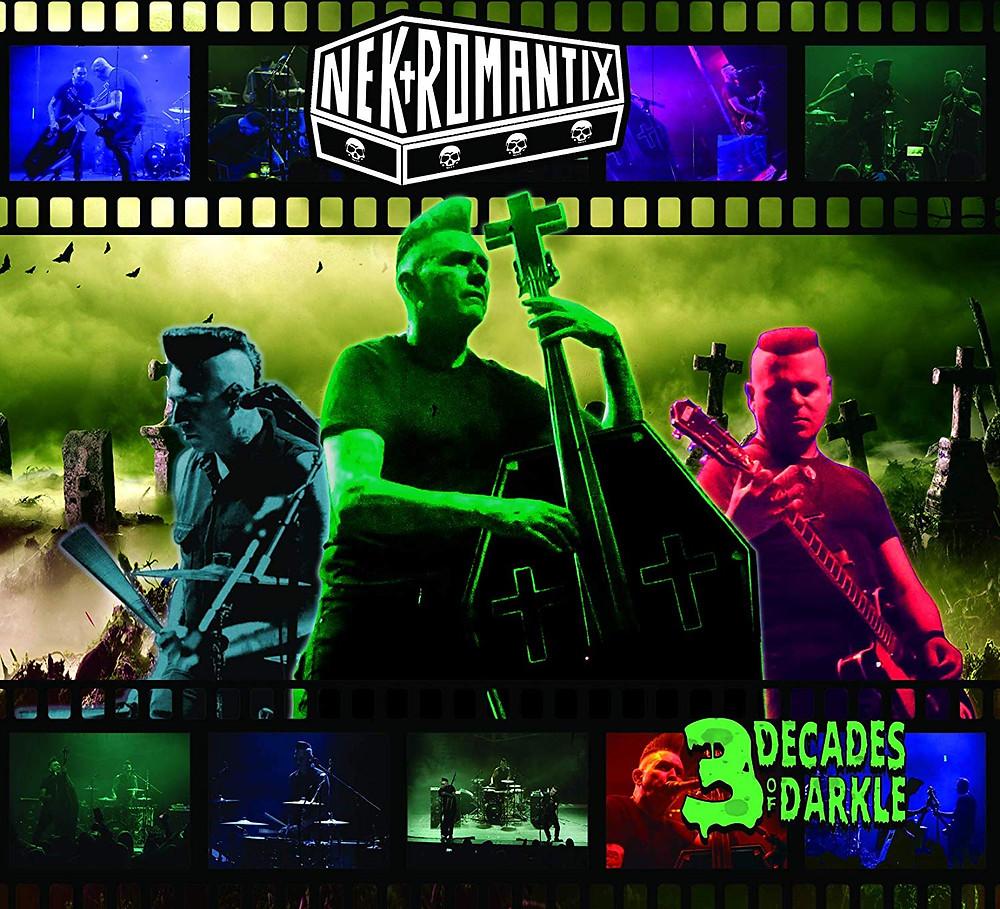 Nekromantix 3 Decades Of Darkle Blu-ray
