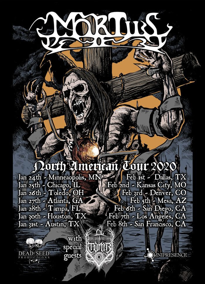 Mortiis North American Tour 2020