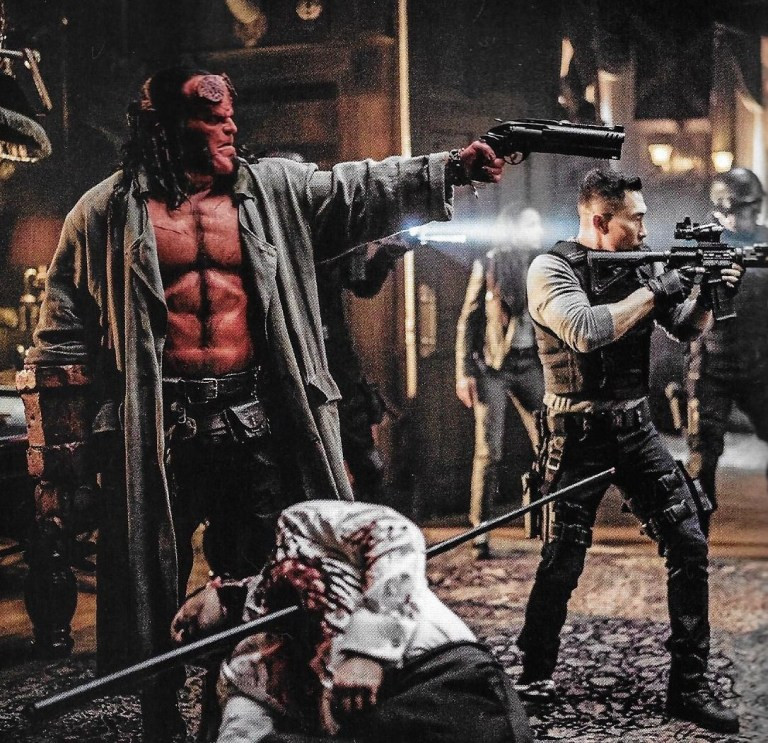 Neil Marshall Hellboy Rated R Violence Gore