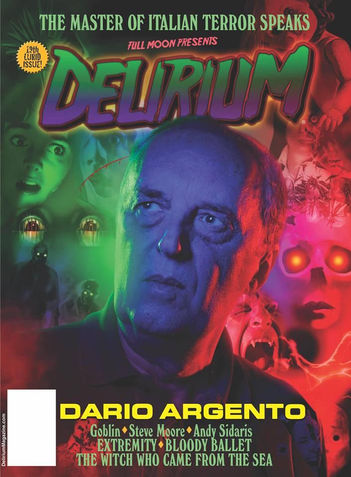 Delirium Magazing Issue 19 Dario Argento
