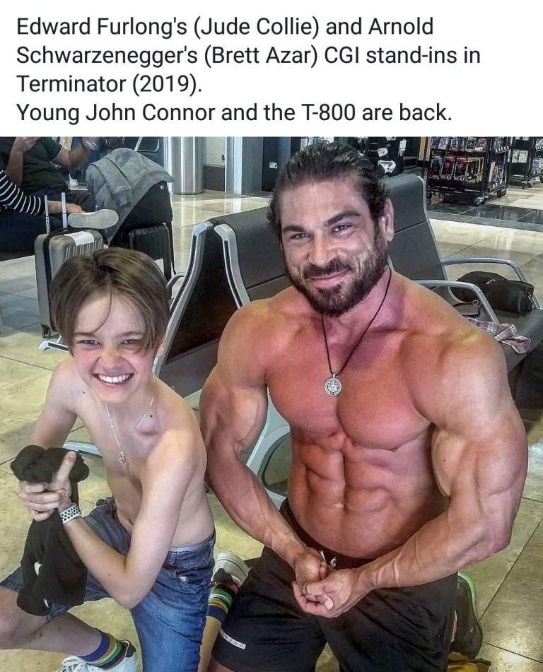 John Connor Terminator Dark Fate