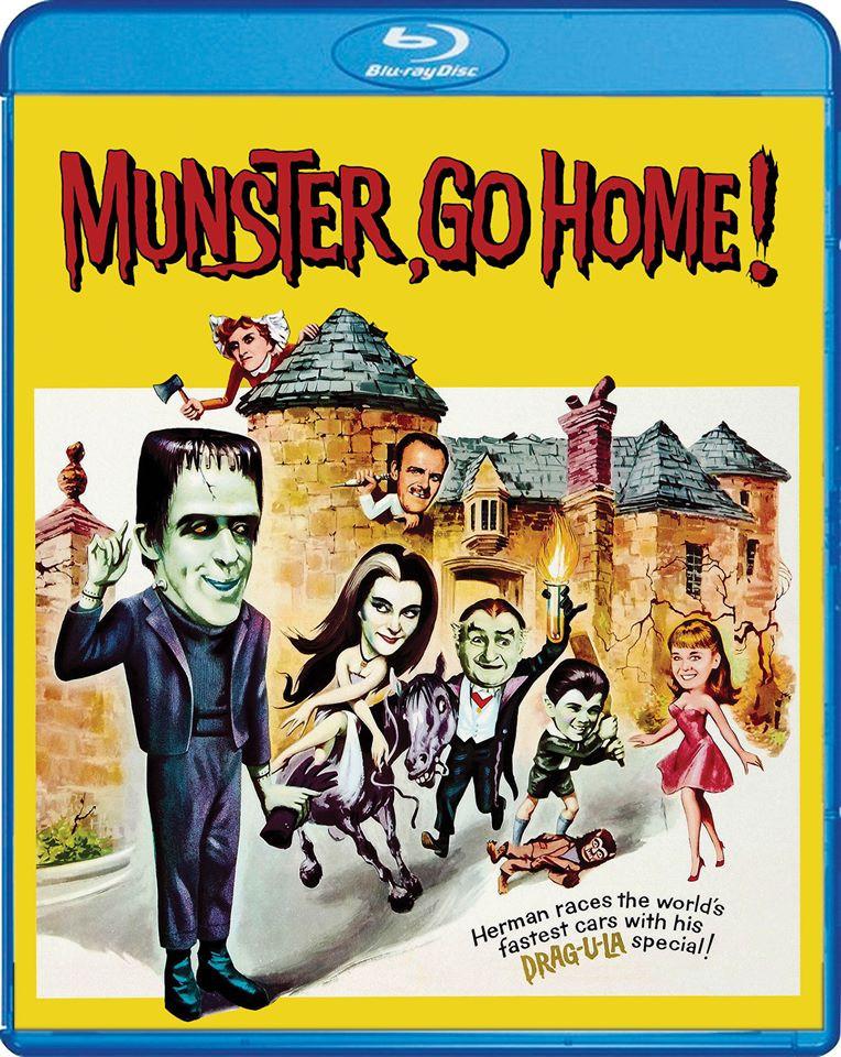 Munster Go Home Scream Factory Blu-ray