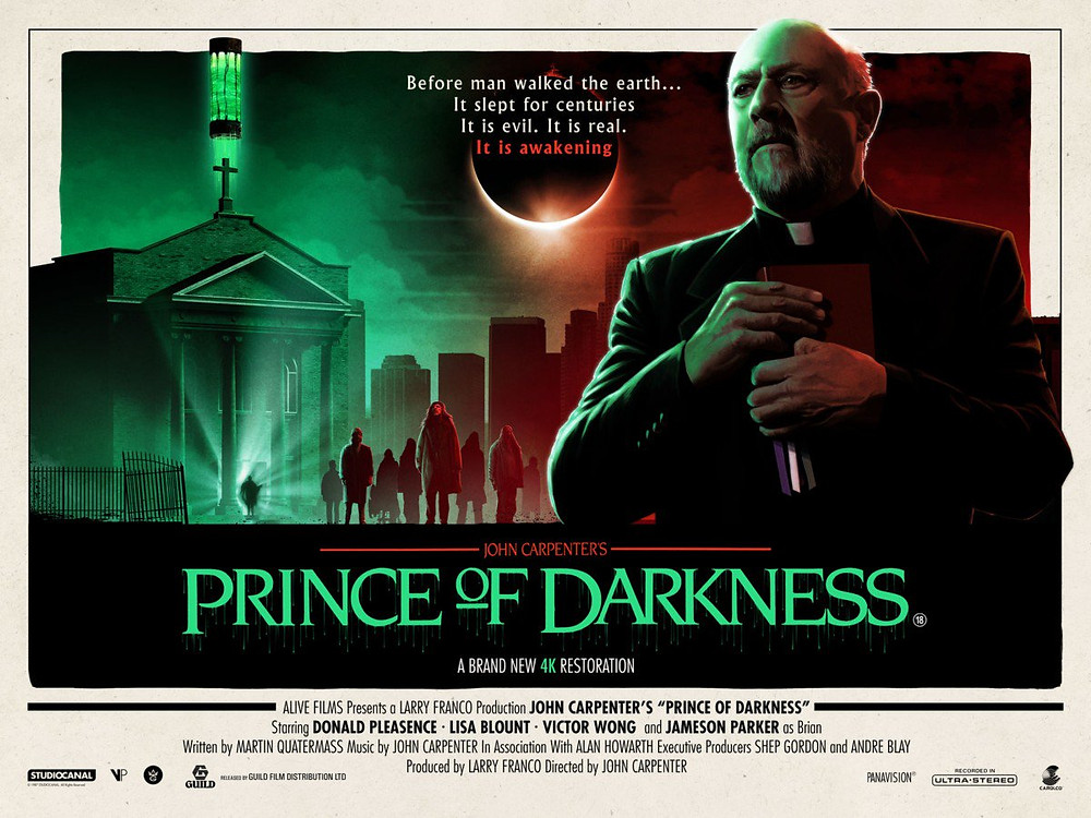 Matt Ferguson Poster John Carpenter Prince of Darkness