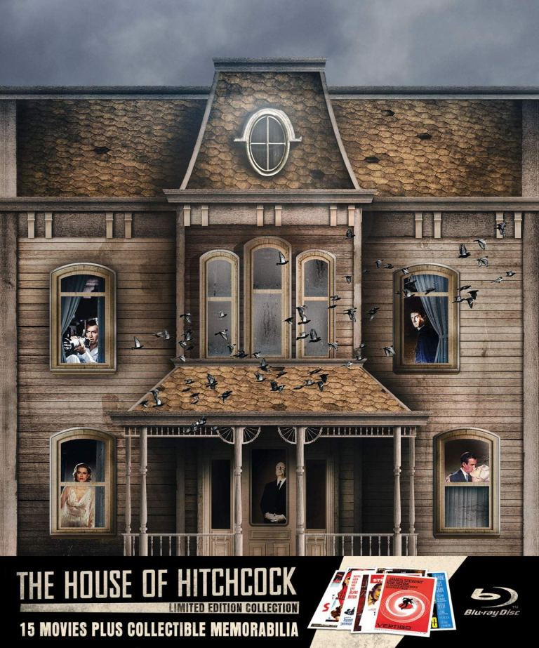 House of Hitchcock Collection Blu-ray Set
