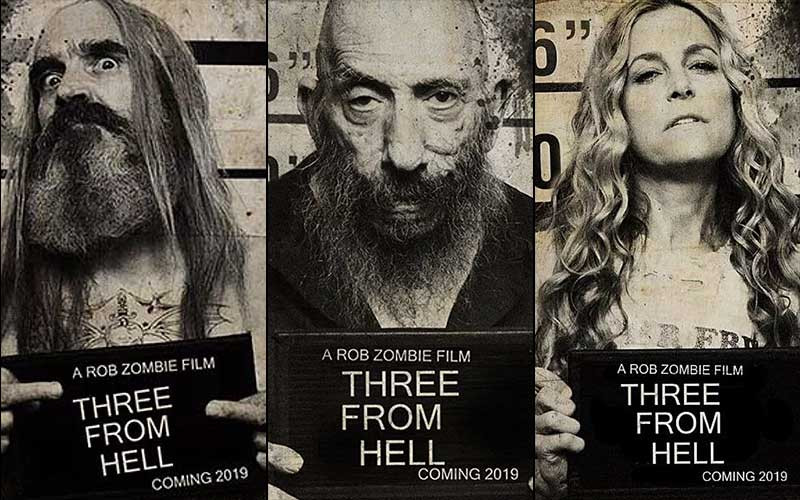Three from Hell sound mixing Rob Zombie