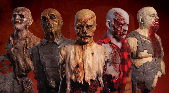 Zombie Busts Trick or Treat Studios