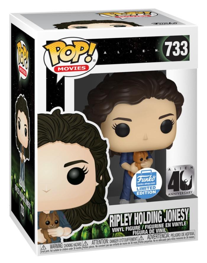 Ripley Holding Jonesy Funko Pop
