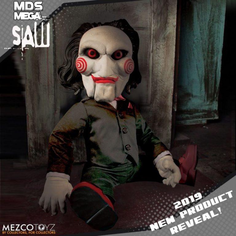 Mezco Saw Billy Puppet Toy Fair 2019