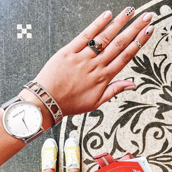 Repost from _purpurpurpur hope you loved your nails! Thanks for visiting us and taking such a fantas