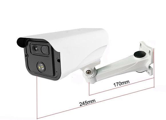 Multi Person, Temperature Detection, Surveillance & Tracking System