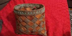 Bark weaving