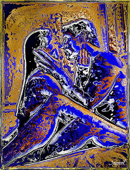 Couple in the 'Last tango in Paris' sex position