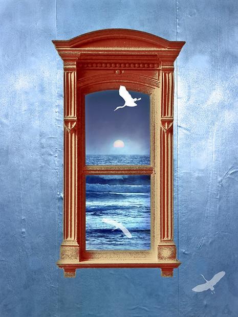 חלון למשרד אופטימי