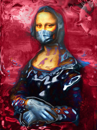 אמנות דיגיטלית - מונה קורונה