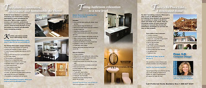 Prefered Home Builders - Catalog design