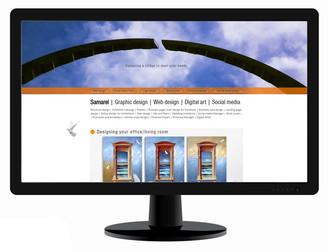 Landing Page-Samarel Design