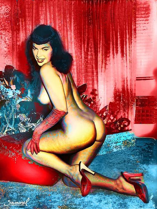 Bettie-Nude-Red