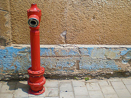 A sexy interview with a hydrant