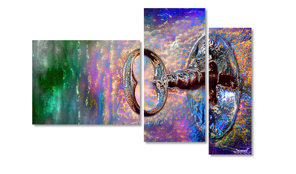 Art on canvas for the office - The key
