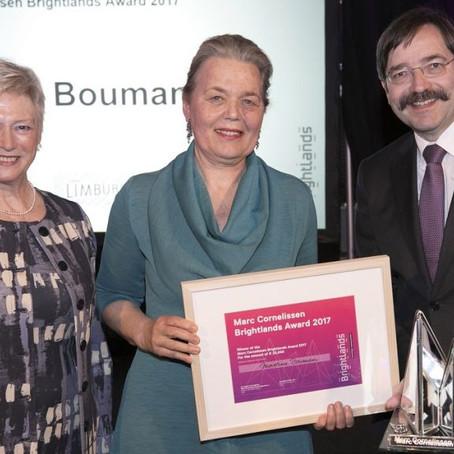 Martine Bouman wins Marc Cornelissen | Brightlands Award 2017