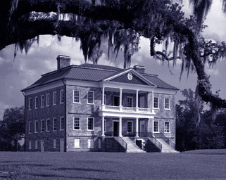 Drayton Hall a Ashley River USA