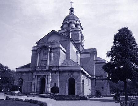 Cattedrale del Redentore a Delhi IND