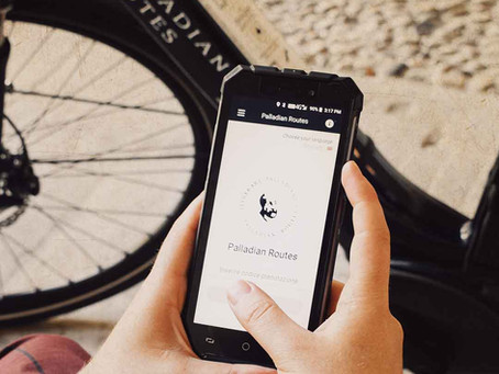 Safe Palladian E-Bike Tours from your Smartphone