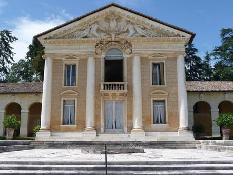 Les villas vénitiennes, un site du patrimoine mondial créé par Andrea Palladio.