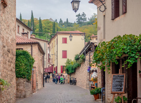 Arquà Petrarca, one of the most beautiful villages
