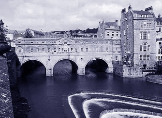 Pulteney Bridge a Bath GB
