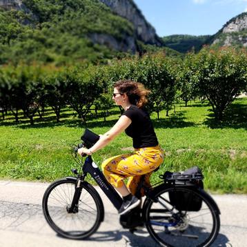 E-Bike e Navigatore GPS