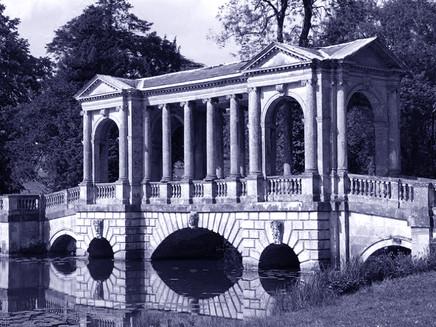 Stowe Palladian Bridge a Buckingamshire GB