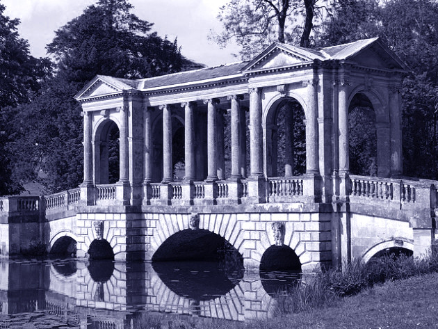 Stowe Palladian Bridge a Buckingamshire GB