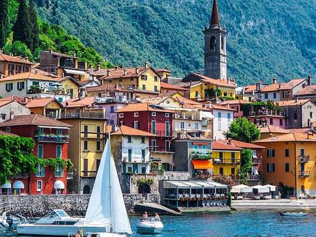 Schönste Seen Italiens