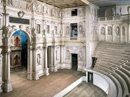 The Olympic Theatre of Vicenza: Palladio's masterpiece