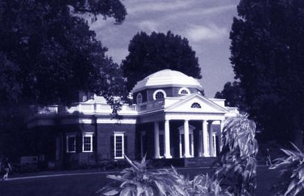 Villa di Monticello a Albemarle County USA