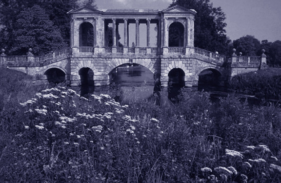 Ponte Palladiano a Wilton House a Wilton near Salisbury in Wiltshire GB