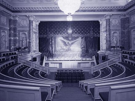 Teatro dell Hermitage a S Pietroburgo RUS