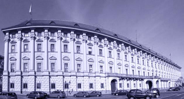 Palazzo Cernin a Praga CZ