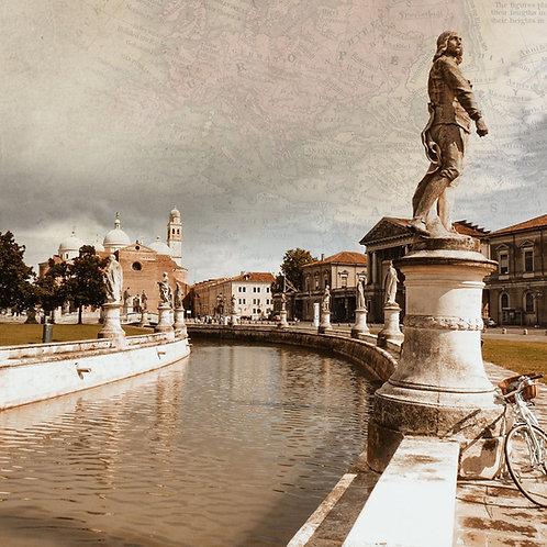 The majestic reflection of Padua