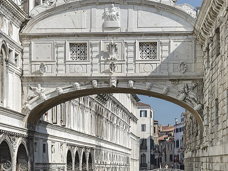 The Bridge of Sighs, a Must-See in the Wonderful Venice.