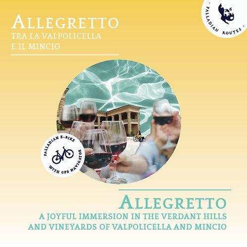 Allegretto between Valpolicella and Mincio