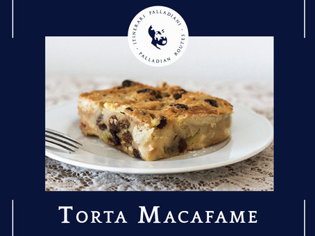 "Macafame cake, the first ""Heritage on the Table"" recipe."