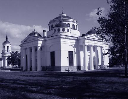 Chiesa di S Sofia a Pushkin S. Pietroburgo RUS