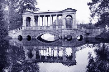 Ponte Palladiano a Puskin S Pietroburgo RUS